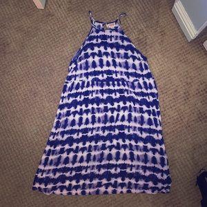 Mossimo Supply Co. Dresses - Medium Mossimo Supply Co. Blue and White Dress